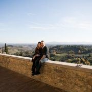 Wedding Anniversary in Tuscany from U.S.A
